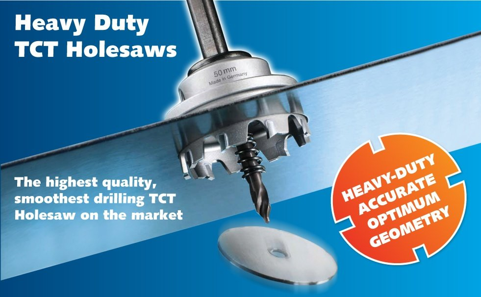 Excision Heavy Duty TCT holesaw