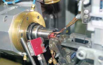 Excision TCT holesaw being manufactured